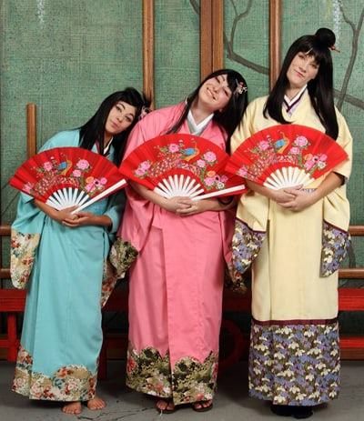 A press release image for The Mikado.
