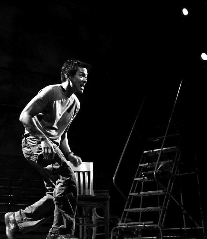 Joel de la Fuente as Gordon Hirabayashi in Hold These Truths. • Photo by Lia Chang