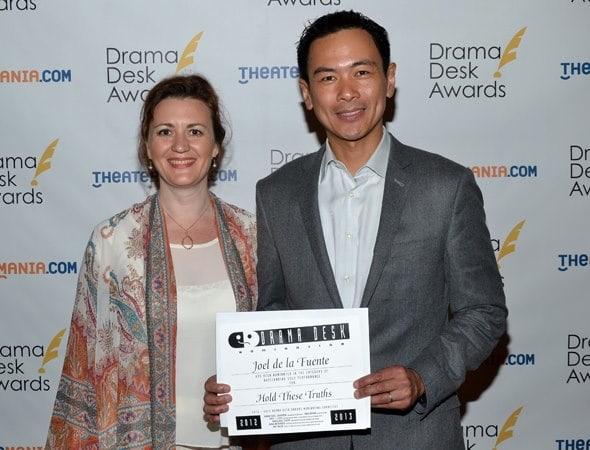 Director Lisa Rothe and actor Joel de la Fuente. • Photo by Erika Kauffman