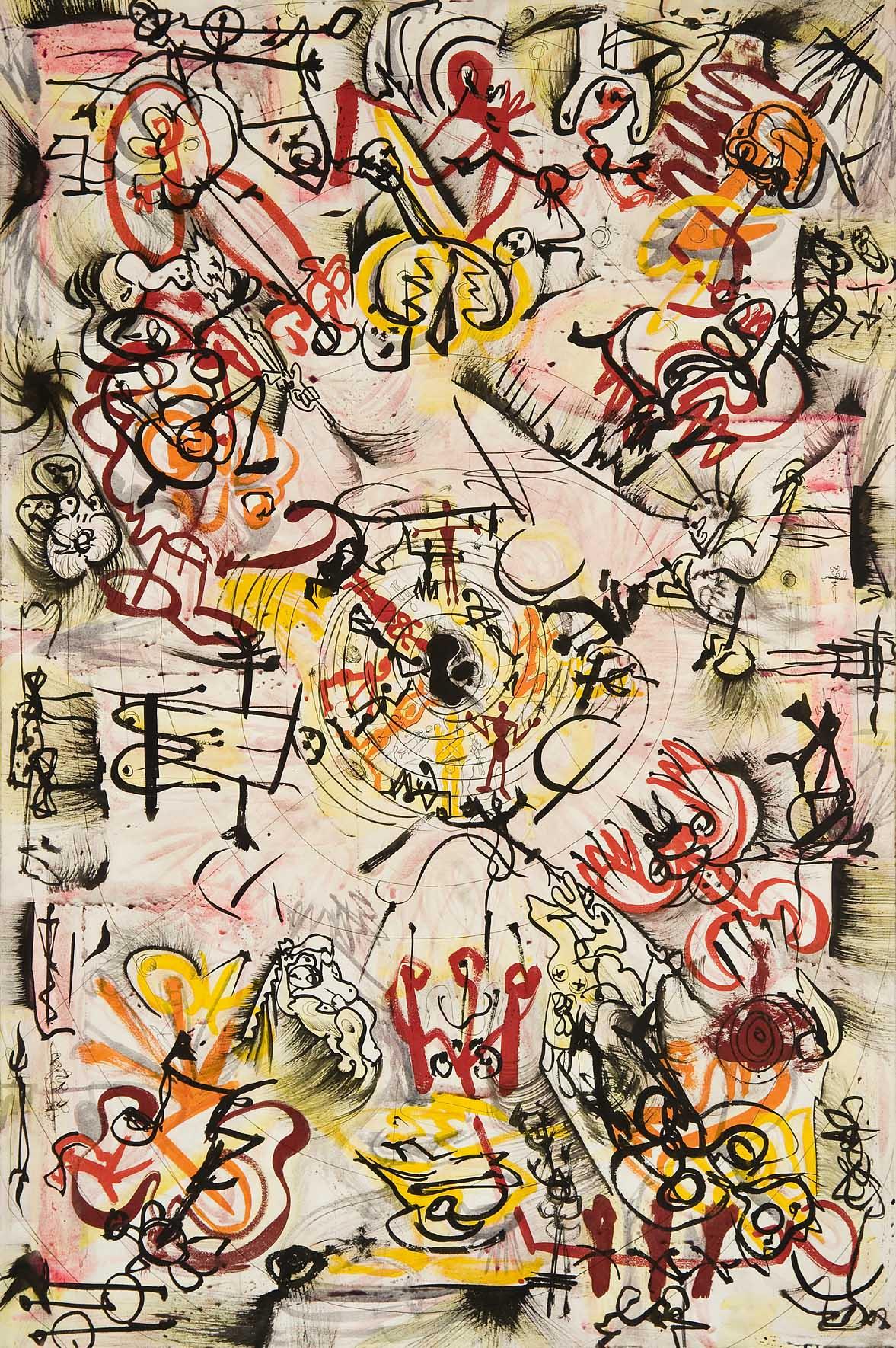 Ossorio, Untitled [MR420], 1949