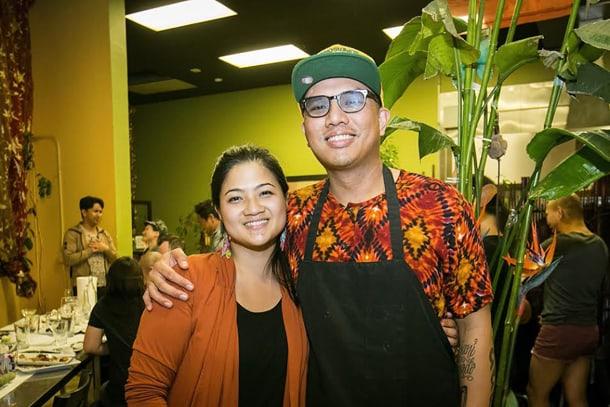 Food & Sh*t founders Chera Amlag and Geo Quibuyen. • Courtesy Photo