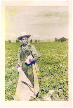 Grandpa Zenkichi Kikuchi. •Courtesy Photo
