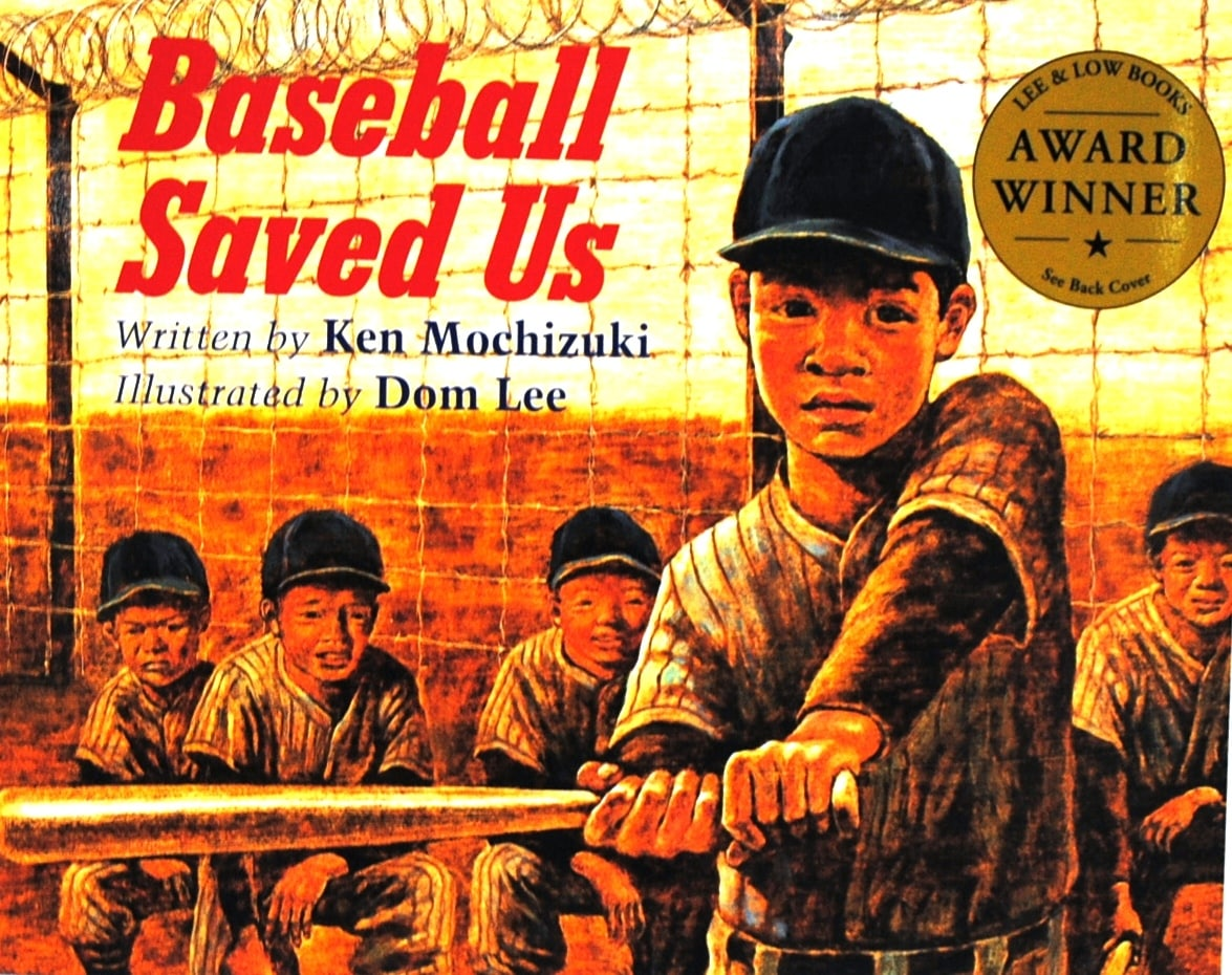 Cover of  Baseball Saved Us  • Courtesy photo