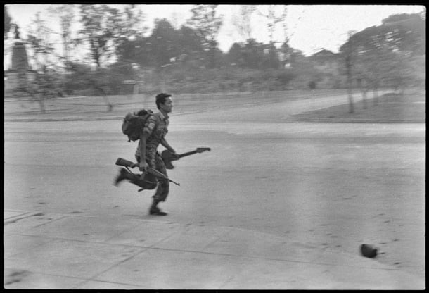 A still from the film, Don't Think I've Forgotten: Cambodia's Lost Rock and Roll, by John Pirozzi.