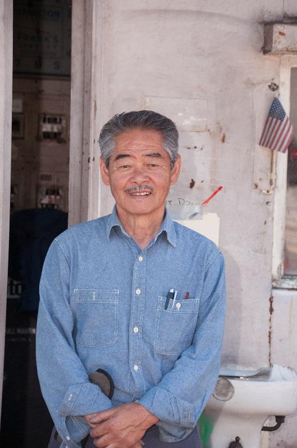 Seventh Avenue Service owner Pat Abe. • Photo by  Walt Tuai