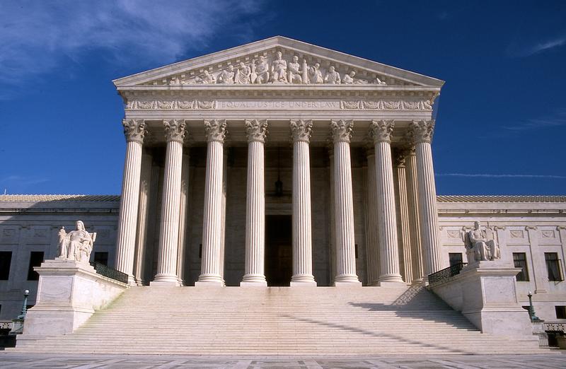 U.S. Supreme Court Building. • Photo by Jeff Kubina