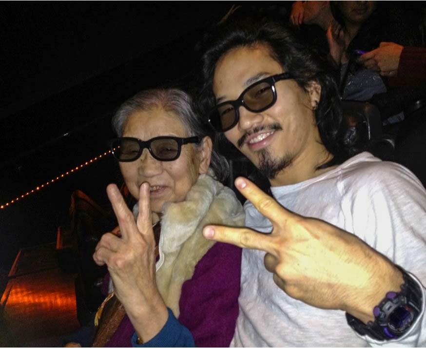 G'ma and Che Sehyun. • Courtesy Photo