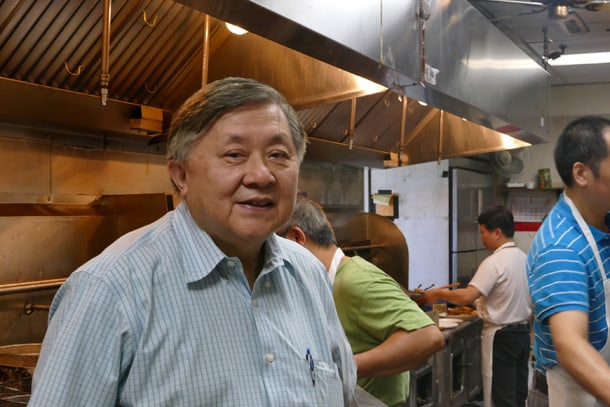 Faye Hong originally planned to run Hong's Garden Restaurant for only five years. • Photo by Jeff Hanada