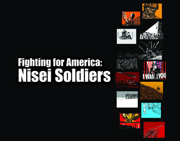 The graphic novel, Fighting For America: Nisei Soldiers written by Matsuda and illustrated by Matt Sasaki, tells the story of six brave and courageous Nisei soldiers from the Pacific Northwest who proved their loyalty and made a significant mark in American history.