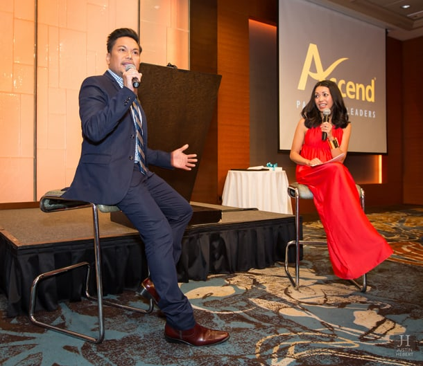 Marc Anthony Nicolas speaks at the Ascend Gala on October 24, 2015. • Photo by Justin Hebert Photography