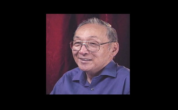 """Tsuguo """"Ike"""" Ikeda. • Image from a Densho oral history video. Click here to watch."""