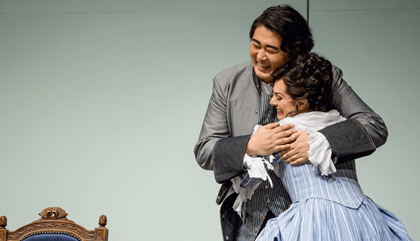 Shenyang will be starring as Figaro at Seattle Opera on January 16, 20, 23, 27 and 30. © Tuffer