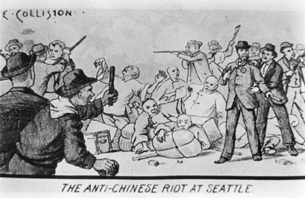 anti chinese in seattle