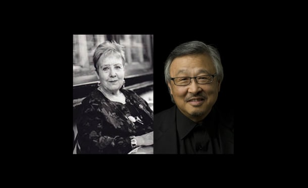 Tess Gallagher and Lawrence Matsuda corresponded over the years in a playful, spirited exchange.
