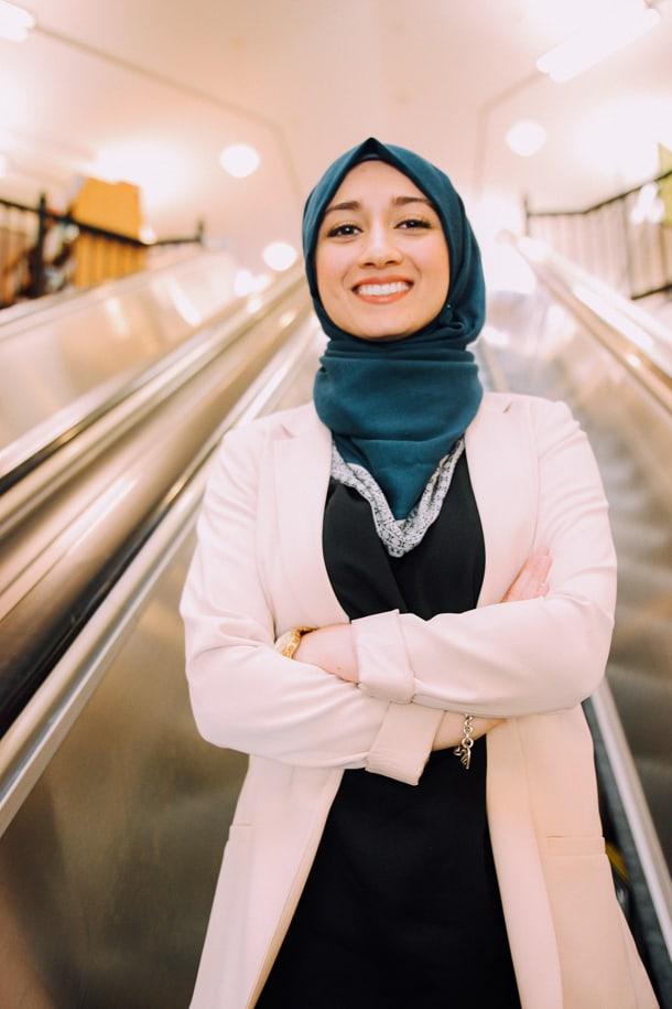 University of Washington Student Varisha Khan. • Courtesy Photo