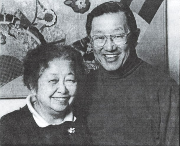 Ruth Woo and her husband Ben Woo, who passed away in 2008. • Photo by Jon Honda