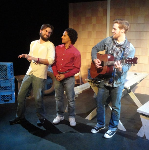 ReACT Theatre's The Aliens runs through July 24 at West of Lenin. • Courtesy Photo
