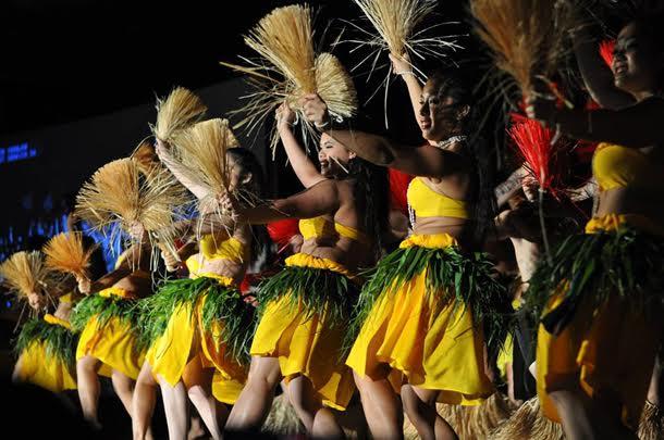 Hura•iti Mana performs Hawaiian, Tahitian, Samoan, and Maori-style dances. • Courtesy Photo