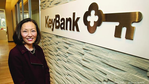 KeyBank's Carol K  Nelson stewards community focus